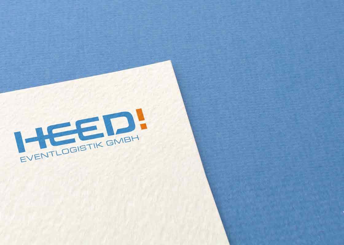 Die Designtante: Logodesign für HEED! Eventlogistik GmbH