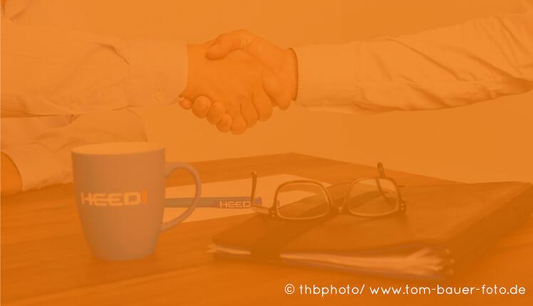 HEED! Eventlogistik Corporate Design Entwicklung: Bildwelt