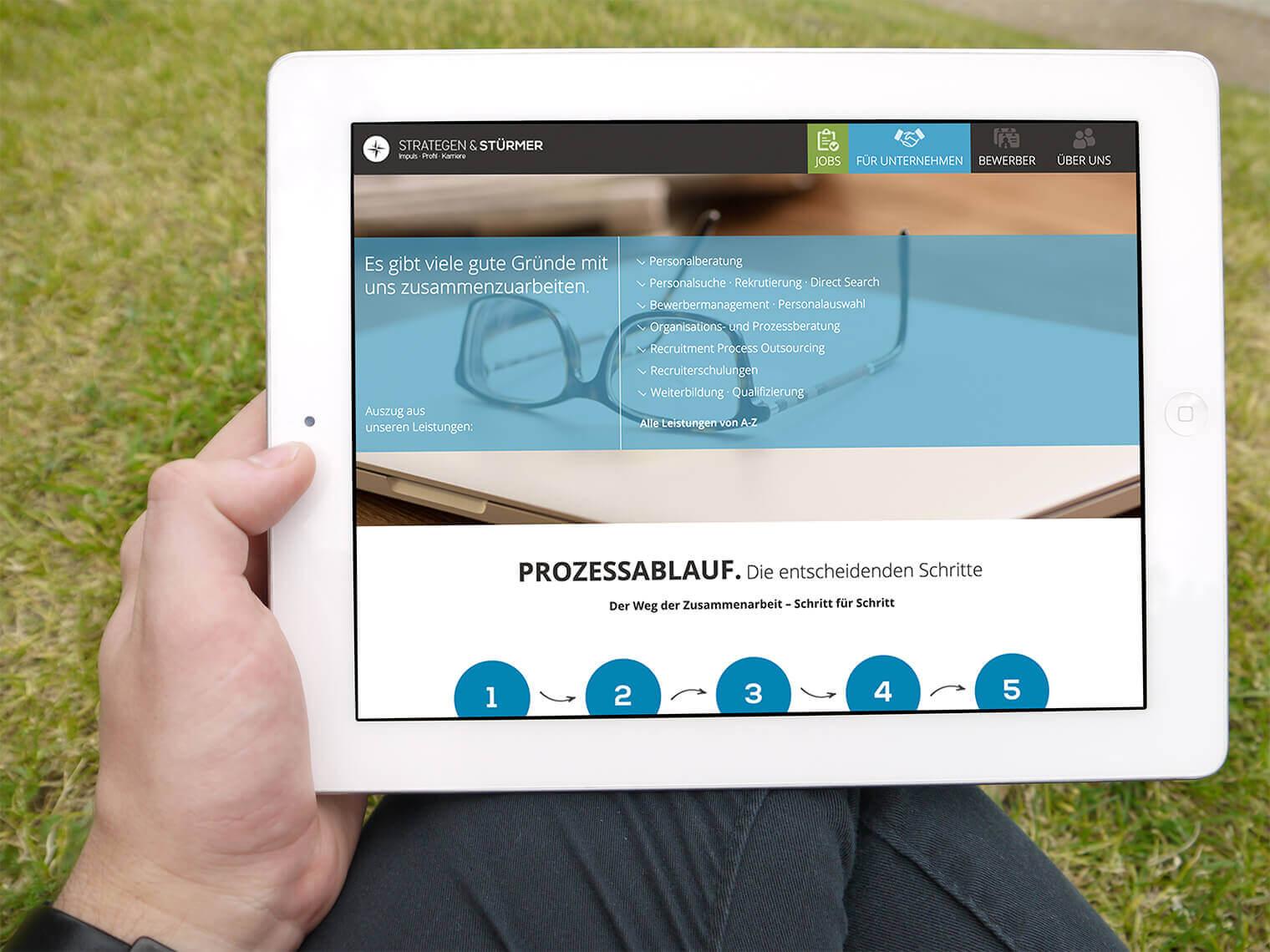 STRATEGEN & STÜRMER: Responsive Webdesign